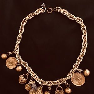 Jewelry - Gold Charmed Necklace